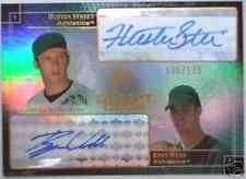 2004 SP Prospects HUSTON STREET RYAN WEBB RC Draft Duos Dual Auto #/175