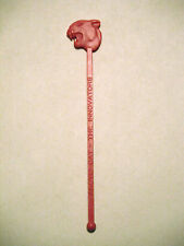 Vintage Arctic Cat Snowmobiles Swizzle Stick From 1972 Dealer Meeting