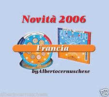 2006 8 monete 3,88 EURO FRANCIA France Frankreich Франция Frankrijk Francja