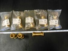 """LOT of 8 Push to connect 3/4"""" Check Valve Spring Loaded Lead Free Brass NIP"""