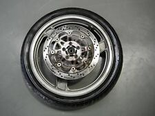 Front wheel with tyre disc KAWASAKI ZZR250 EX250H ZZR NINJA 1990 90 #1