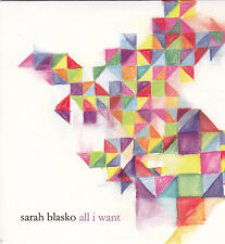 Sarah Blasko-All I Want cd single