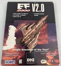 EF 2000 V2.0 Vintage PC Game 1998 Simulator Strategy Flying Dos Windows 95 Jets
