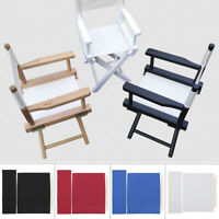 Directors Chairs Cover Replacement Canvas Seat Covers Set Outdoor New CA