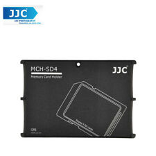NEW JJC Pocket 4 SD MEMORY CARD CASE Holders CASE TRAVEL PROTECTOR MCH-SD4GR