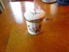 Small Aynsley Wild Tudor Lidded Pin pot