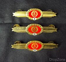 Juego de 3 Alemania Del Este Ejército Militar DDR Volksarmee Competencia Arms