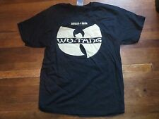 WU-TANG  CLAN - 2010 with Snoop Dogg & others -  T-SHIRT HIP HOP WUTANG size L