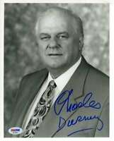 Charles Durning Psa Dna Coa Hand Signed 8x10 Photo Autograph Authenticated