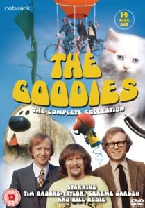 The Goodies The Complete Collection 14 discs DVD Box Set R4 2019 release