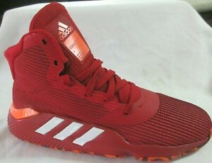 Adidas Pro Bounce 2019 Red Basketball  Men Shoes 11
