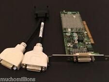 NVIDIA QUADRO NVS280 PCI 64MB VCQ4280NVS-PCI-T ATX with DUAL DVI CABLE