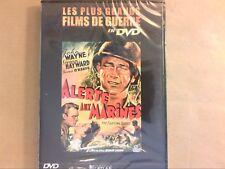 RARE DVD LES PLUS GRANDS FILM DE GUERRE / ALERTE AUX MARINES / JOHN WAYNE / NEUF