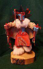 """Vintage 16"""" Kachina Doll """"Hototo"""" Warrior Signed Alto Apachito"""