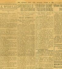 More details for suffrage ratified women to vote 100 years ago suffragettes august 19 1920 b24