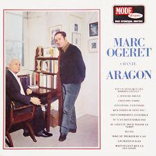 MARC OGERET Chante Aragon FR Press Mode MDINT 9455 LP