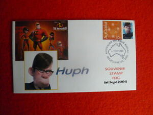 2004 HUPH THE  INCREDIBLES P-STAMP FIRST DAY COVER