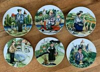 """Perigord by Guy Buffet for Williams Sonoma Set of 6 Appetizer Salad Plates 8"""""""