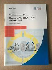 VW Selbststudienprogramm SSP 295 Diagnose mit VAS 5051,VAS 5052 sowie Vas 5053