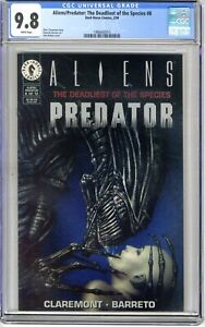 Aliens/Predator: The Deadliest of the Species  #8  CGC  9.8  NMMT   White pages