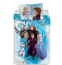 Baby Kinder Bettwäsche DISNEY 100x135 2-tlg Frozen II Anna Elsa Olaf