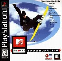 Mtv Sports Snowboarding - PS1 PS2 Playstation Game