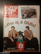 Autosprint anno XXIV n. 2 - 10/16 gennaio 1984