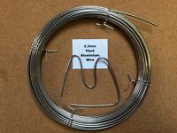 2.3mm x 10m 13SWG Stiff Aluminium Wire Floristry Craft Making Bonsai Training