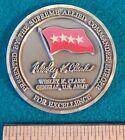 Внешний вид - 1997-2000 US Army SHAPE SACEUR General WESLEY CLARK Bronze Challenge Coin XLNT