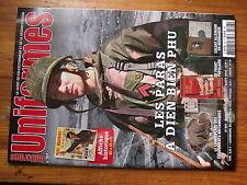$$t Revue Uniformes N°307 paras Dien Bien Phu  front populaire  camouflages UK