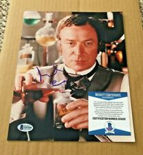 MICHAEL CAINE SIGNED 8X10 PHOTO BECKETT CERTIFIED