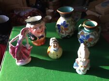 Job Lot Of Art Deco Pottery And Figurines Including Gouda