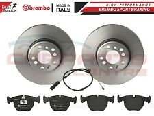 FOR BMW X5 E53 3.0 D 3.0i BREMBO FRONT BRAKE DISC DISCS PAD PADS SENSORS