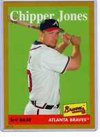 Chipper Jones 2019 Topps Archives 5x7 Gold #88 /10 Braves