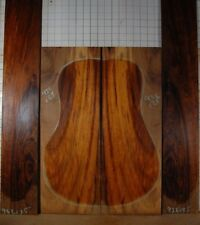 colorful figured Imbuia tonewood guitar luthier set back and sides Imbuya