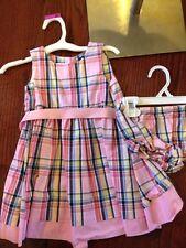 Chaps Plaid 18 Month Dress