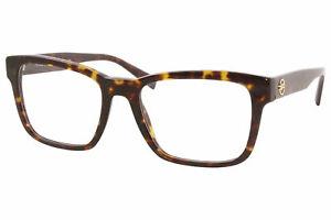 Versace VE3285 108 Eyeglasses Men's Dark Havana Full Rim Optical Frame 55mm