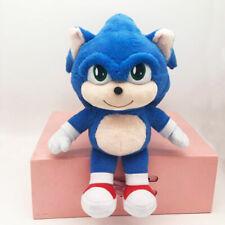 Sonic The Hedgehog Plush Toy Soft Stuffed Doll Animal Kids Birthday Xmas Gifts