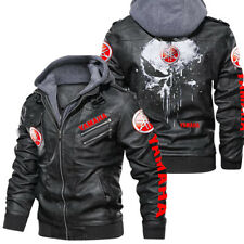 Yamaha - Leather Jacket, Best gift, New jacket-HALLOWEEN-SKULL SO COOL