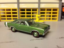 1/64 1969 Dodge Dart Gt Sport Green/White Int.with a 340 Auto/Rubber Redlines