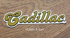 Cadillac Wheels Longboard Skateboard Sticker Aufkleber (S136)