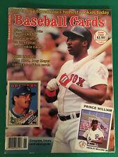 Baseball Cards Magazine June 1988 Sam Horn Cover , With Bonus Cards