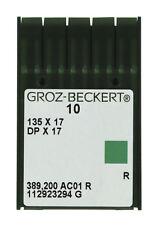 GROZ-BECKERT 135x17  for walking foot (Pack of 10 Needles) Juki Consew sewing