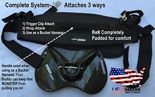 Fish Fighting Belt System- Carbon Fiber