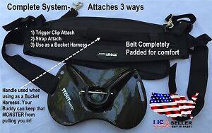 Fish Fighting Belt System- Carbon Fiber