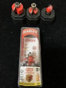 4 Diablo Traditional Beading Bit Deco Edge (D)