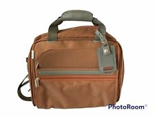 TUMI Limited Edition Carry On Travel Bag Shock Orange Tweed 498 of 500