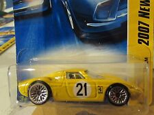 Hot Wheels Ferrari 250 LM 2007 New Models Yellow
