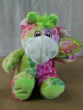 Sugar Loaf Kelly Toy Pink Eyes Horse Multi Color Hair NWT I22