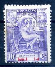 SPAIN - SPAGNA - 1936/1939  - Emissioni locali. Contributo per invalidi. S2099